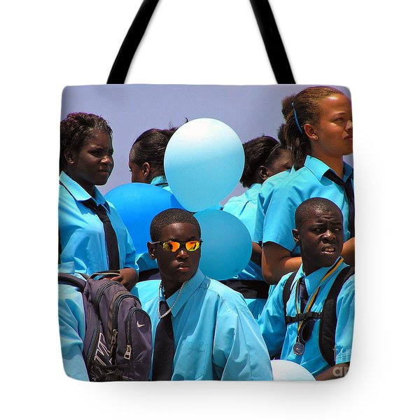 Tote Bag featuring the photograph Celebrate by Li Newton