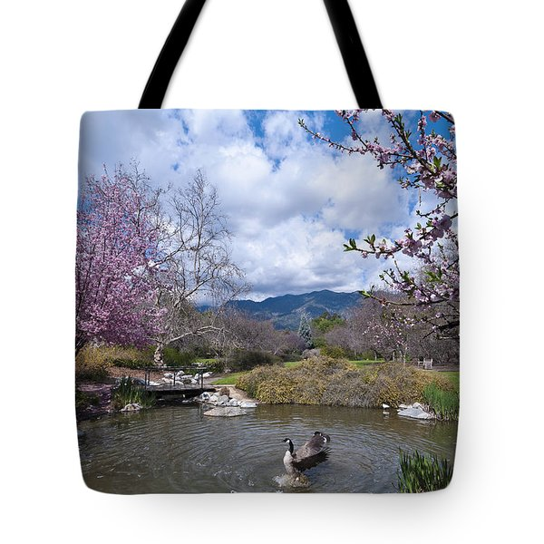 Celebrating Spring Tote Bag by Mike Herdering