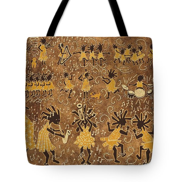 Celebration Tote Bag by Katherine Young-Beck