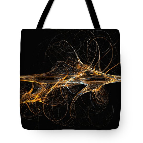 Celebration Of Impulses - Abstract Art Tote Bag