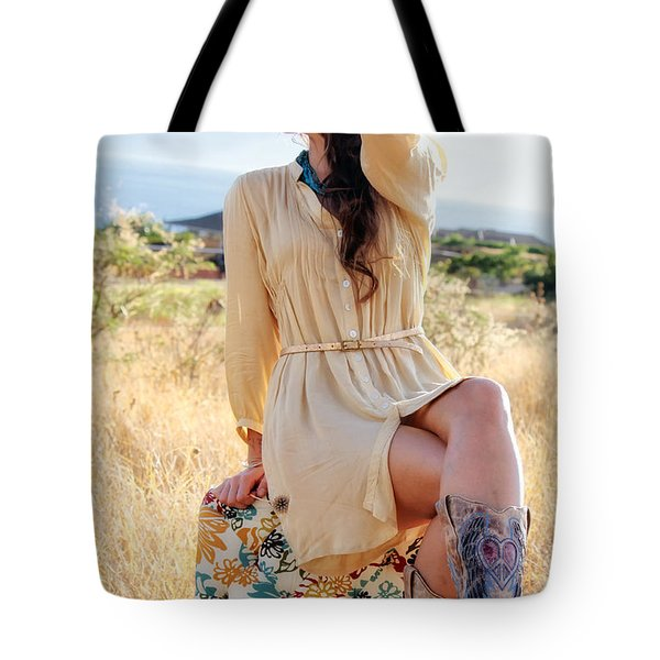 Celeste 12 Tote Bag by Dawn Eshelman