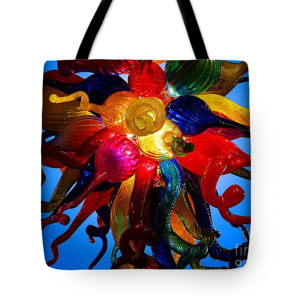 Celestial Glass 7 Tote Bag by Xueling Zou
