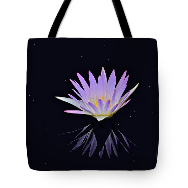 Celestial Waterlily Tote Bag