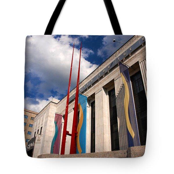 Center For Visual Art Nashville Tote Bag by Susanne Van Hulst