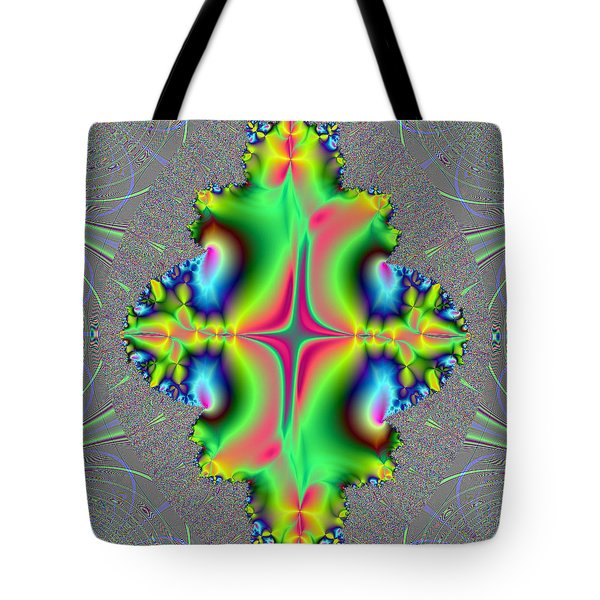 Tote Bag featuring the digital art Center Of Attention by Ester  Rogers