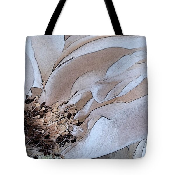Centerfold Tote Bag by Susan Smith