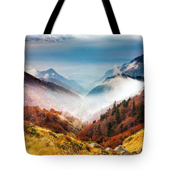 Central Balkan National Park Tote Bag by Evgeni Dinev