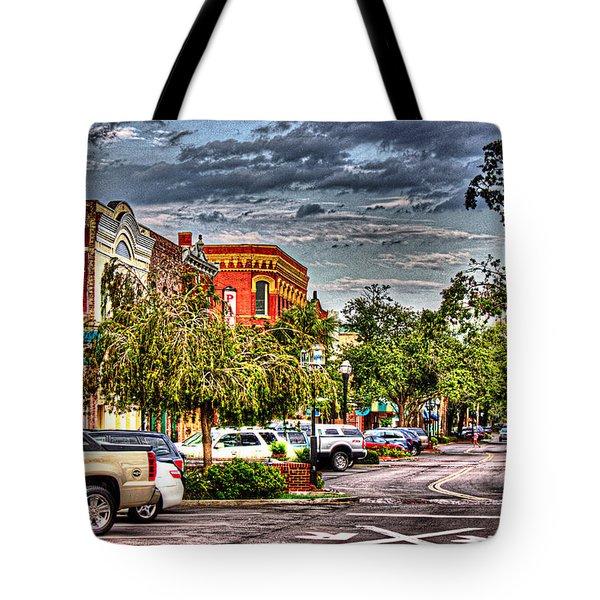 Centre Avenue Tote Bag by Barry Jones