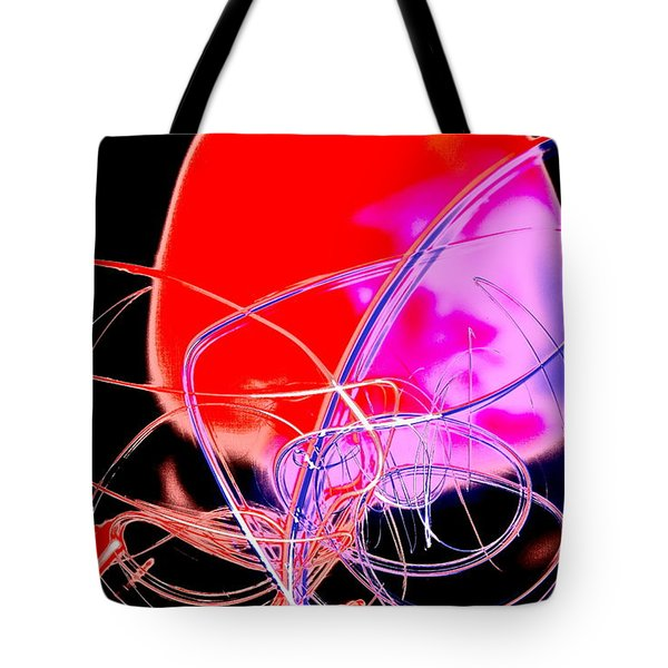 Tote Bag featuring the photograph Cephalopod by Xn Tyler