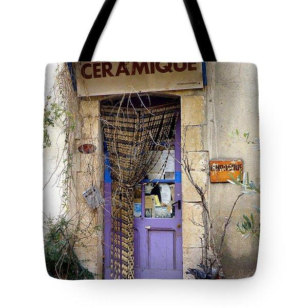 Ceramique Tote Bag by Lainie Wrightson