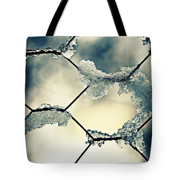 Chainlink Fence Tote Bag by Joana Kruse