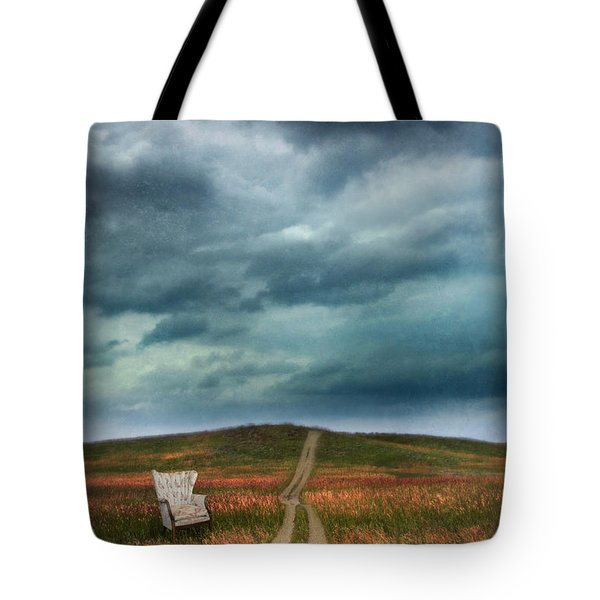 Chair By Country Road Tote Bag