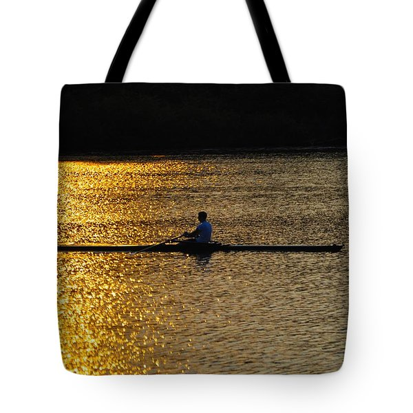 Challenge Yourself Tote Bag by Bill Cannon