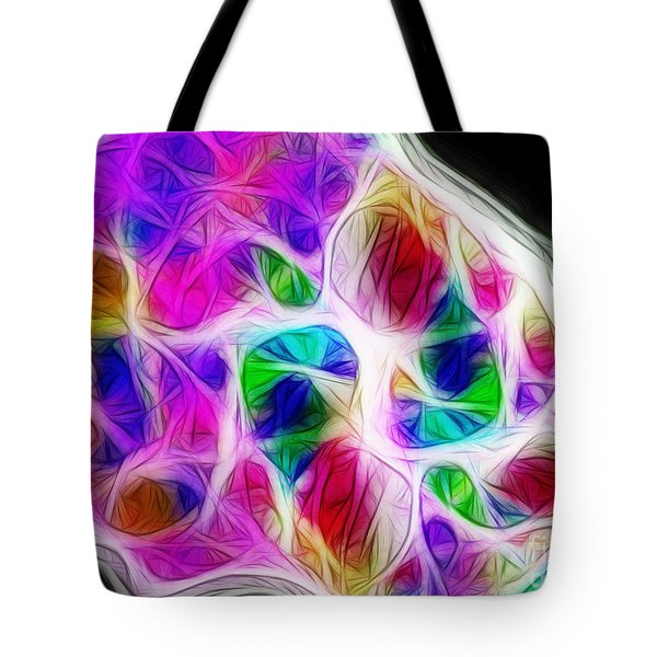 Chambers Of The Heart Tote Bag by Judi Bagwell