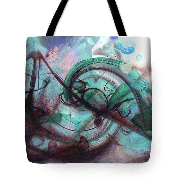 Chaos Tote Bag by Linda Sannuti