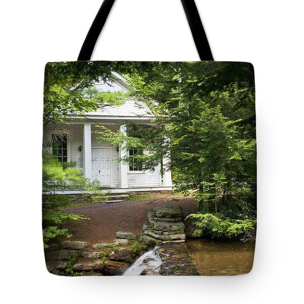 Chapel At Hickory Run State Park Tote Bag