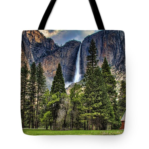 Chapel In The Valley 2 Tote Bag