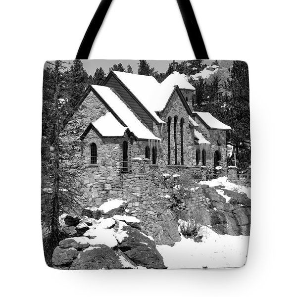 Chapel On The Rocks No. 2 Tote Bag by Dorrene BrownButterfield