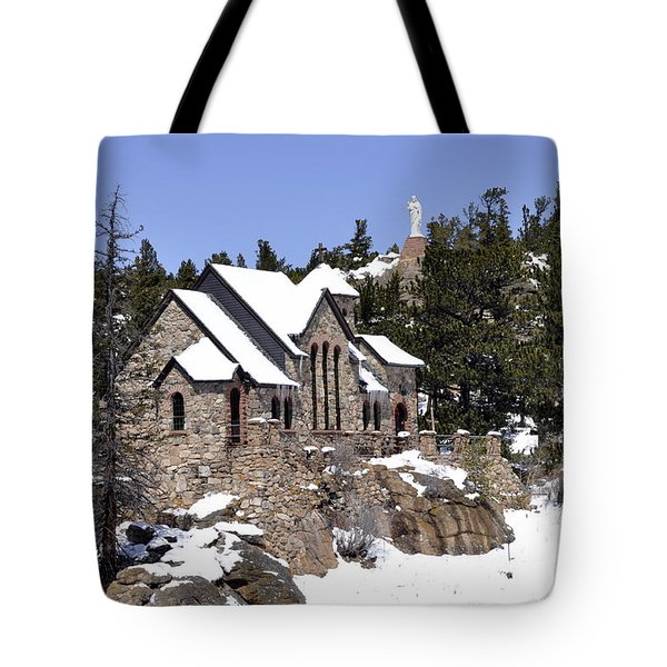 Chapel On The Rocks No. 3 Tote Bag by Dorrene BrownButterfield