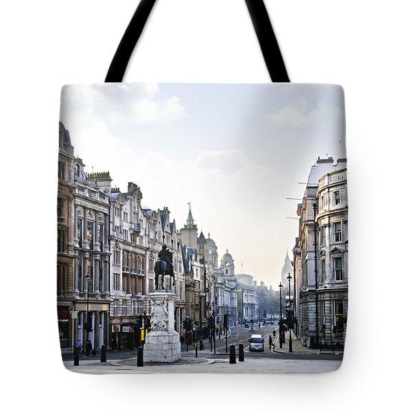 Charing Cross In London Tote Bag by Elena Elisseeva