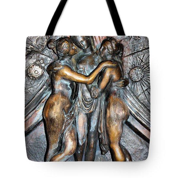Charites Tote Bag by Kristin Elmquist