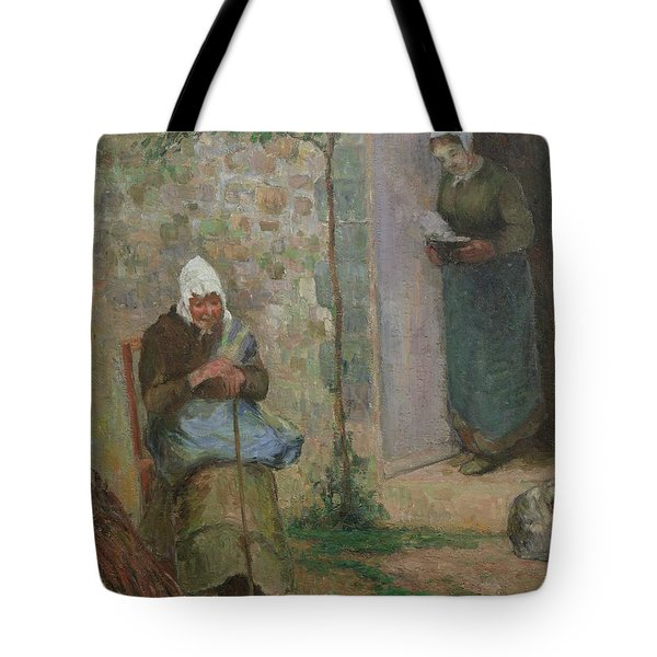 Charity Tote Bag by Camille Pissarro
