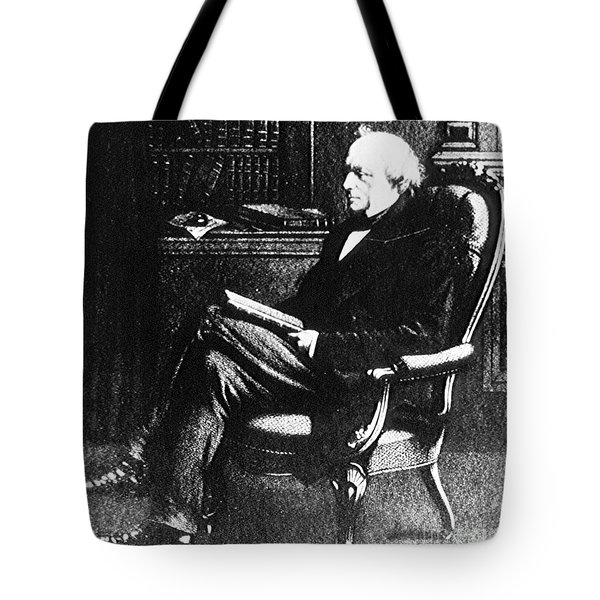 Charles Lyell, English Geologist Tote Bag by Science Source