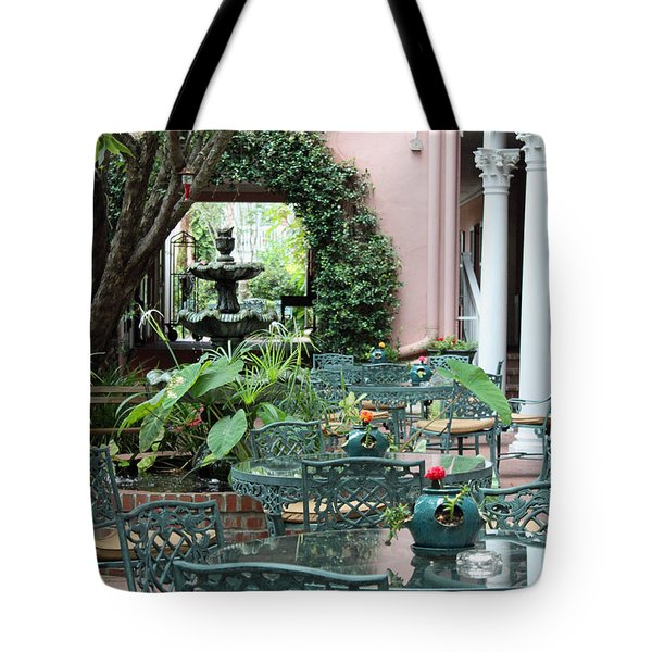 Charleston Dining Tote Bag by Suzanne Gaff
