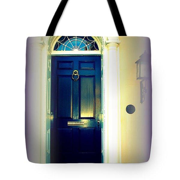 Charleston Door 6 Tote Bag by Susanne Van Hulst