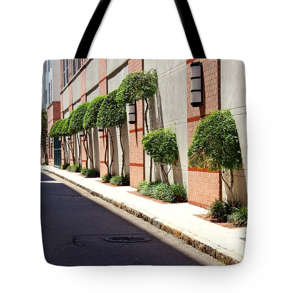 Charleston Street Tote Bag by Jean Haynes