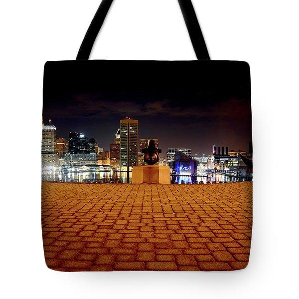Charm City Skyline Tote Bag