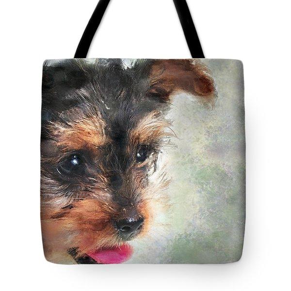 Charming Tote Bag by Betty LaRue