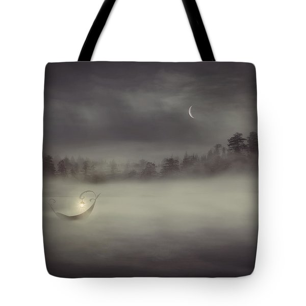 Charon's Boat Tote Bag by Lourry Legarde