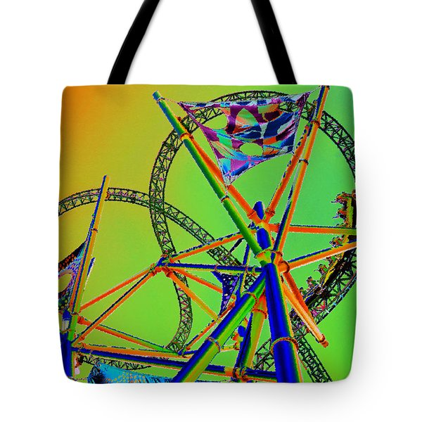 Chasing Prey Tote Bag by David Lee Thompson