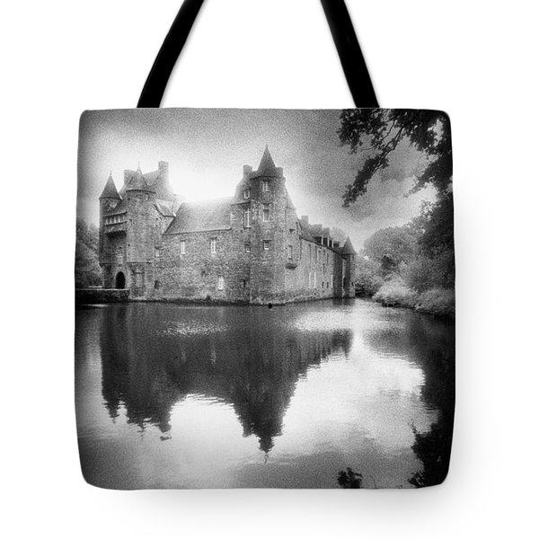 Chateau De Trecesson Tote Bag by Simon Marsden