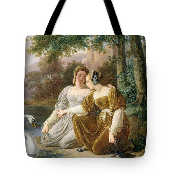 Chatelaines Tote Bag by Pierre Henri Revoil