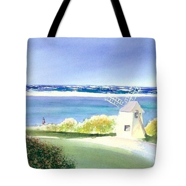 Chatham Harbor July Tote Bag by Joseph Gallant