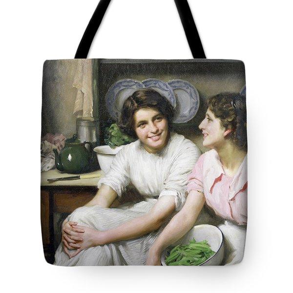 Chatterboxes Tote Bag by Thomas Benjamin Kennington
