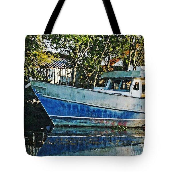Chauvin La Blue Bayou Boat Tote Bag