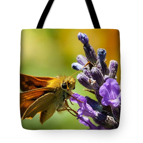 Checking For Nectar Tote Bag