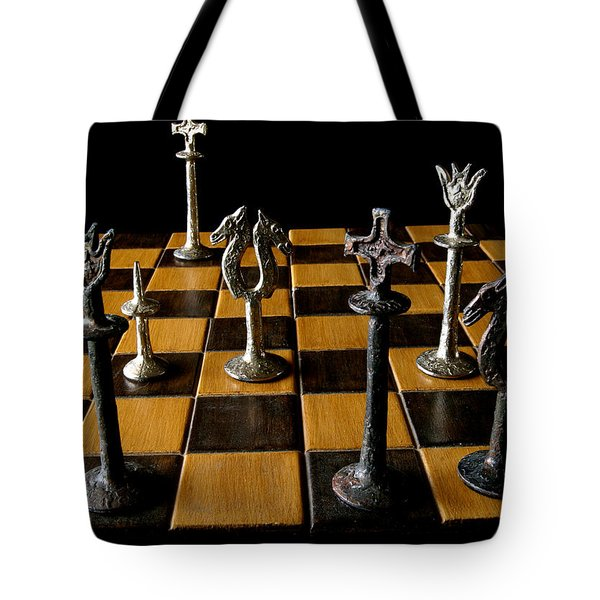 Checkmate Tote Bag by David Salter