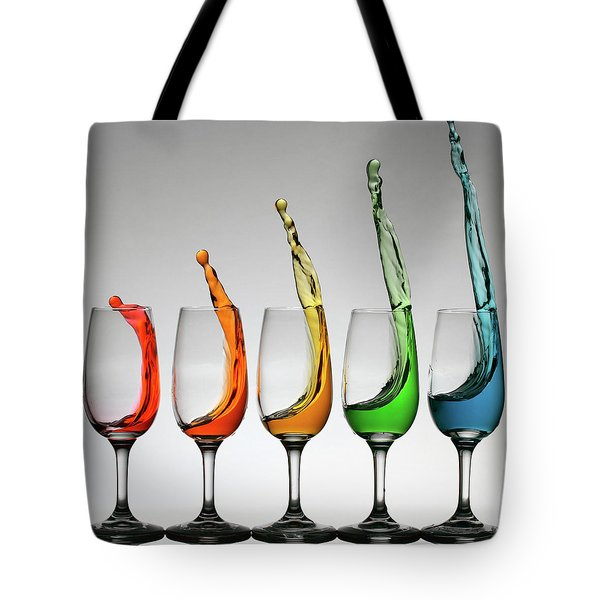 Tote Bag featuring the photograph Cheers Higher by William Lee