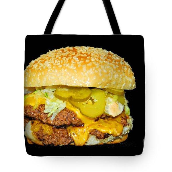 Cheeseburger Tote Bag by Cindy Manero