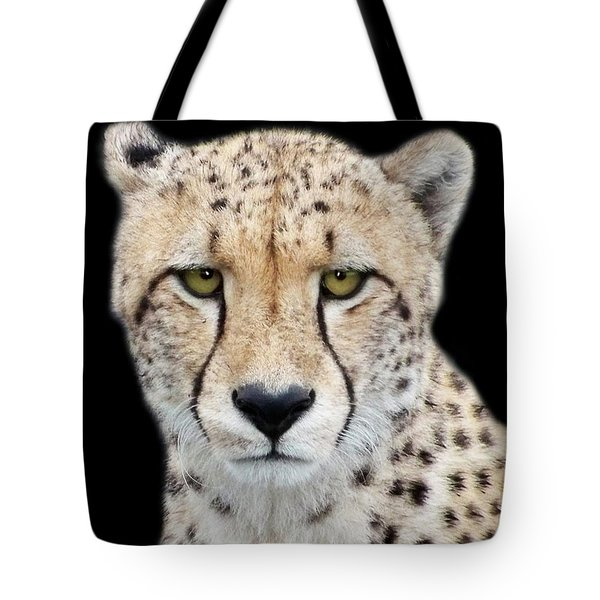 Tote Bag featuring the photograph Cheetah by Lynn Bolt