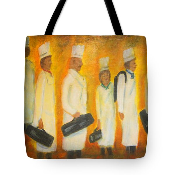 Chef School Tote Bag