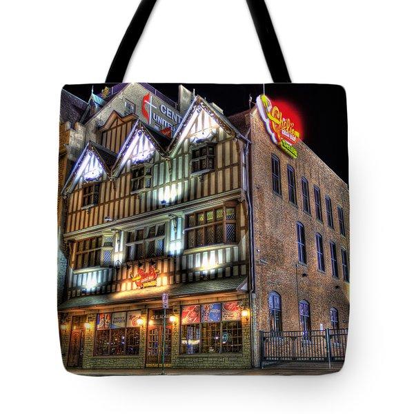 Cheli's Chili Bar Detroit Tote Bag by Nicholas  Grunas