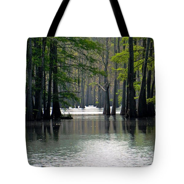 Tote Bag featuring the photograph Cheniere Lake In Louisiana by Ester  Rogers