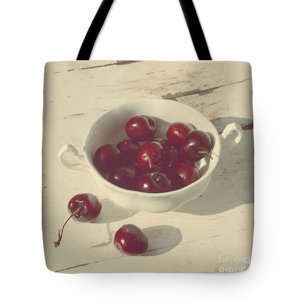 Cherries Still Life  Tote Bag by Svetlana Novikova