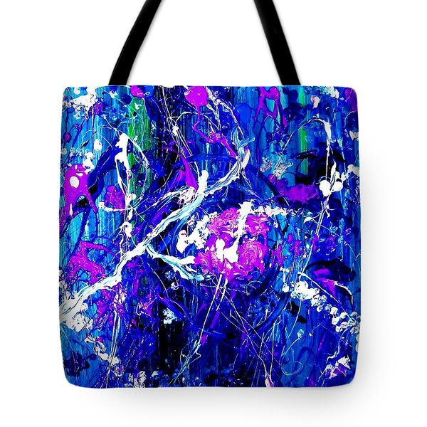 Cherry Blossom Explosion Tote Bag