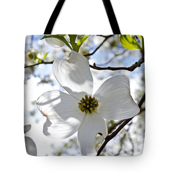 Cherry Blossoms I Tote Bag by Glennis Siverson